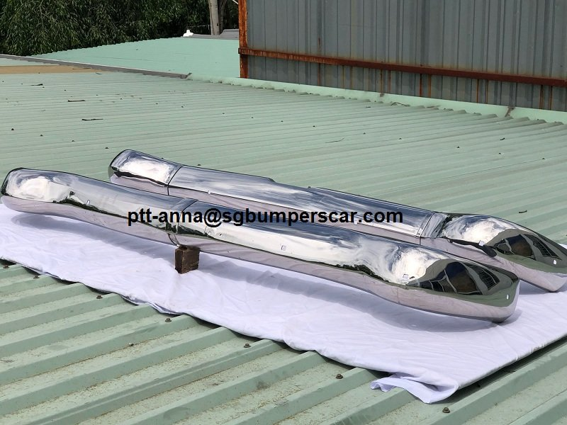 Opel P25 Stainless Steel Bumper For Sale (picture 4 of 4)