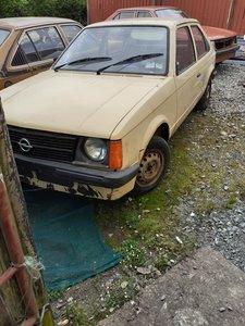 1980 Opel kadett 1.2  rhd.
