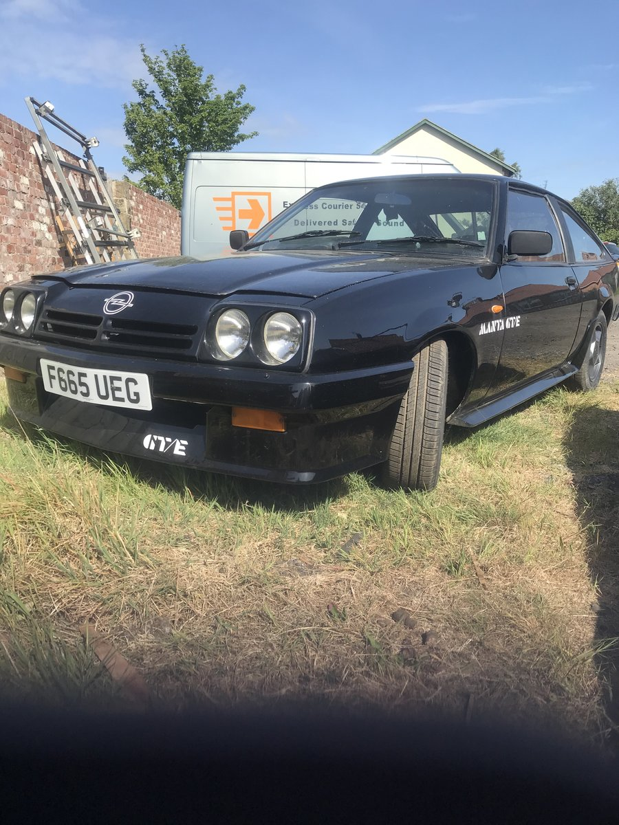 1988 Opel Manta GT/E exclusive For Sale (picture 1 of 6)