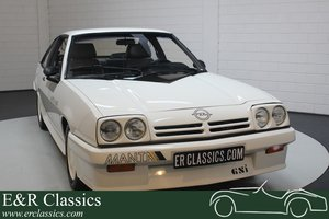 Opel Manta 2.0 GSi 1986 in beautiful condition