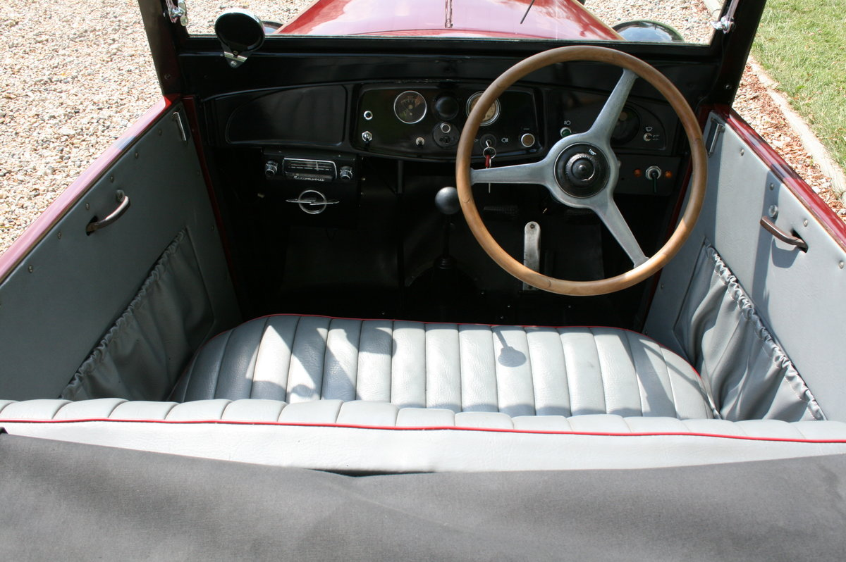1932 Opel 2 Seat Cabrio Tourer 1.2. Delightful and very rare  For Sale (picture 5 of 6)