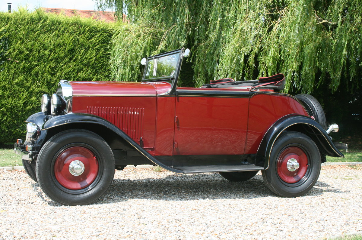 1932 Opel 2 Seat Cabrio Tourer 1.2. Delightful and very rare  For Sale (picture 6 of 6)