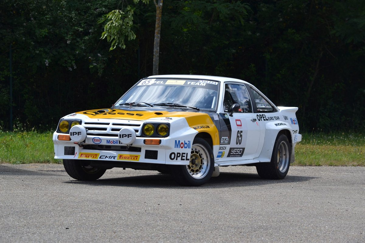 1983 Opel Manta 400 Gr. B ex Hugues Delage No reserve For Sale by Auction (picture 1 of 6)
