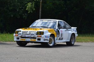 1983 Opel Manta 400 Gr. B ex Hugues Delage No reserve For Sale by Auction
