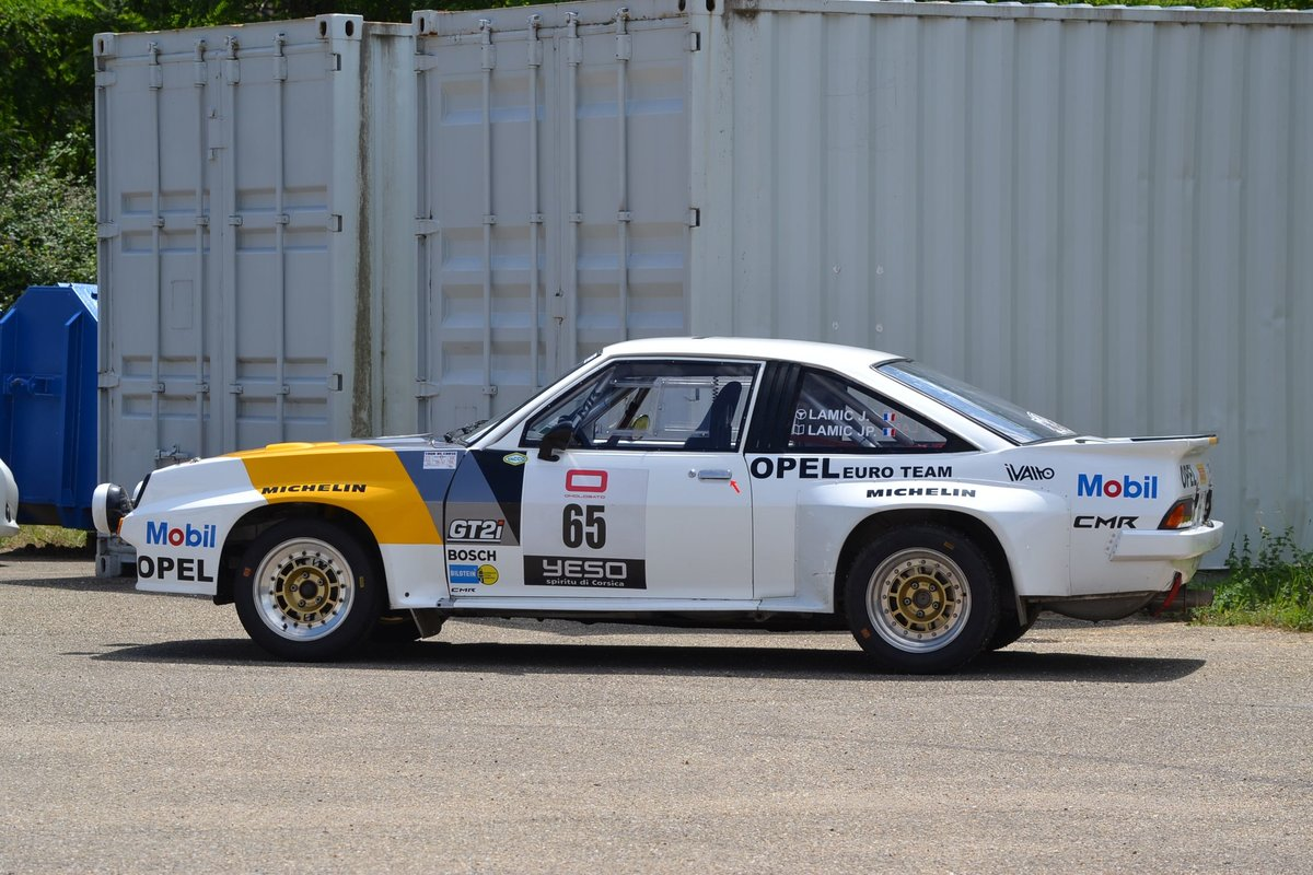 1983 Opel Manta 400 Gr. B ex Hugues Delage No reserve For Sale by Auction (picture 3 of 6)