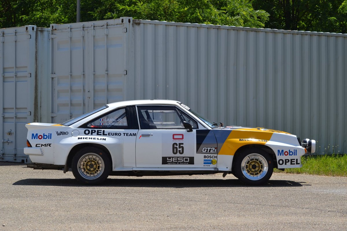 1983 Opel Manta 400 Gr. B ex Hugues Delage No reserve For Sale by Auction (picture 6 of 6)
