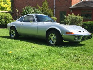 1969 Opel GT, Excellent condition and rust free.