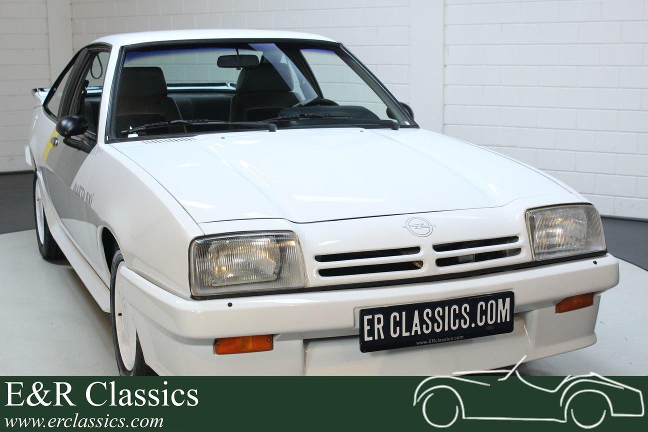 Opel Manta 2.0 GSI 1988 54.319 km Unique For Sale (picture 1 of 6)