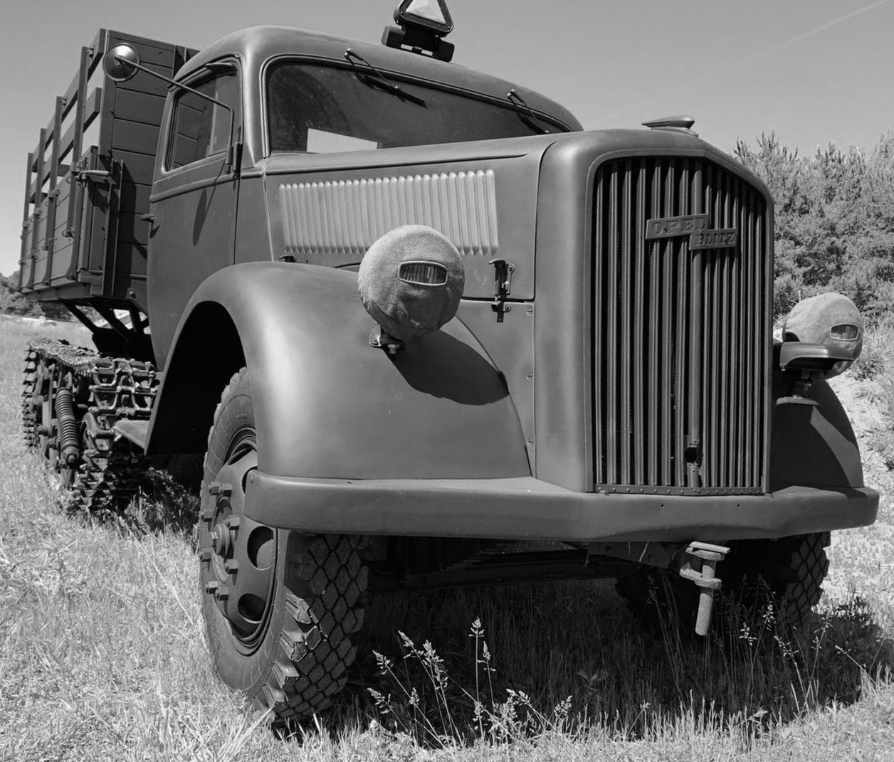"1944 fully restored Opel ""Maultier"" Halbkette For Sale (picture 2 of 6)"