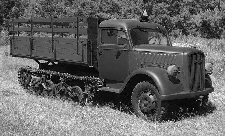"1944 fully restored Opel ""Maultier"" Halbkette For Sale (picture 3 of 6)"