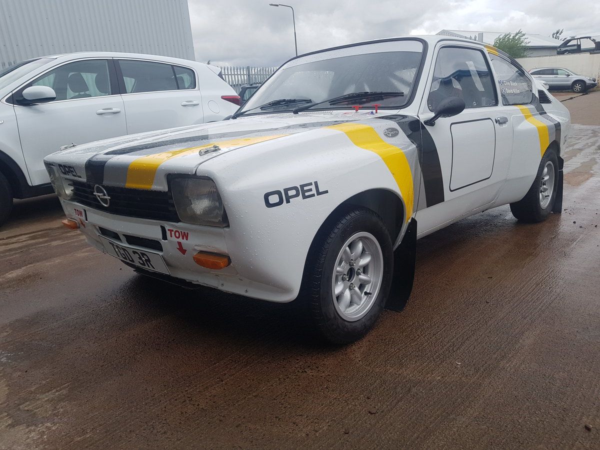 1977 Opel Kadett Coupe Historic Rally Car For Sale (picture 1 of 6)