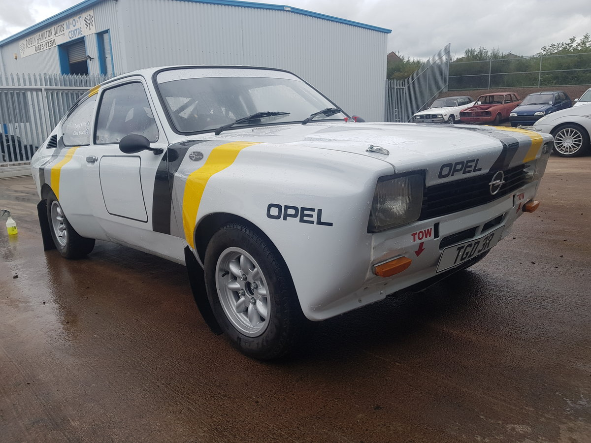 1977 Opel Kadett Coupe Historic Rally Car For Sale (picture 2 of 6)