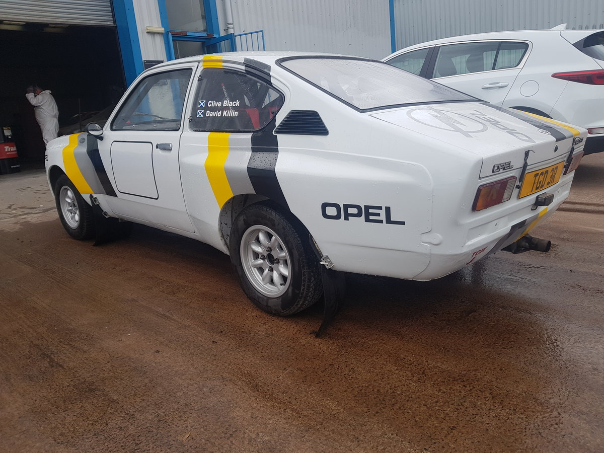 1977 Opel Kadett Coupe Historic Rally Car For Sale (picture 3 of 6)