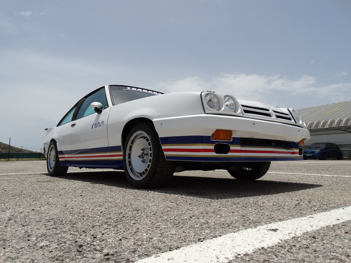 1982 Opel Manta i200 Group B track car For Sale (picture 2 of 6)