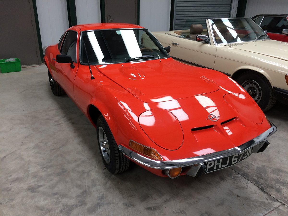 1972 Opel GT 1900 For Sale (picture 1 of 6)