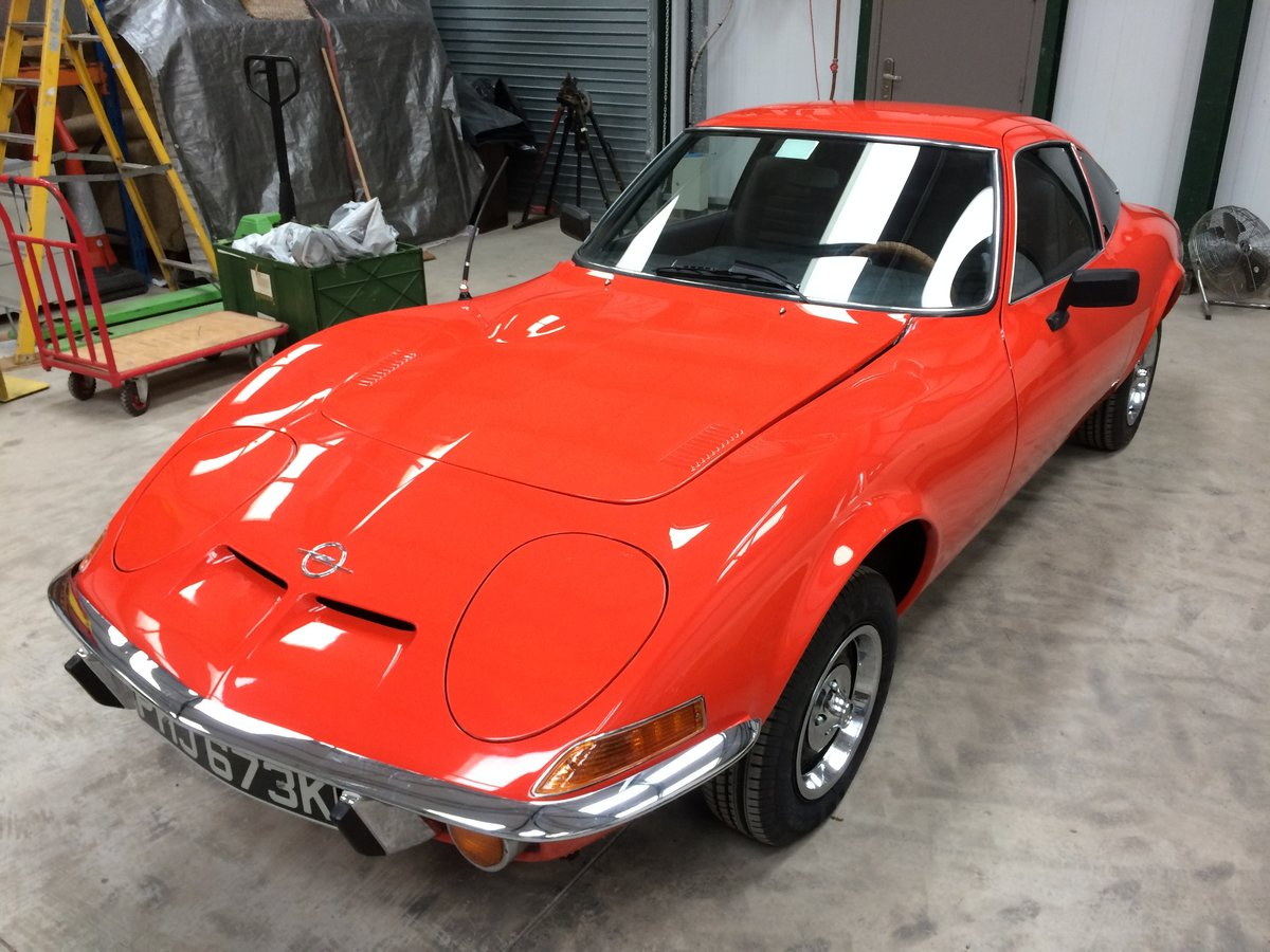 1972 Opel GT 1900 For Sale (picture 2 of 6)