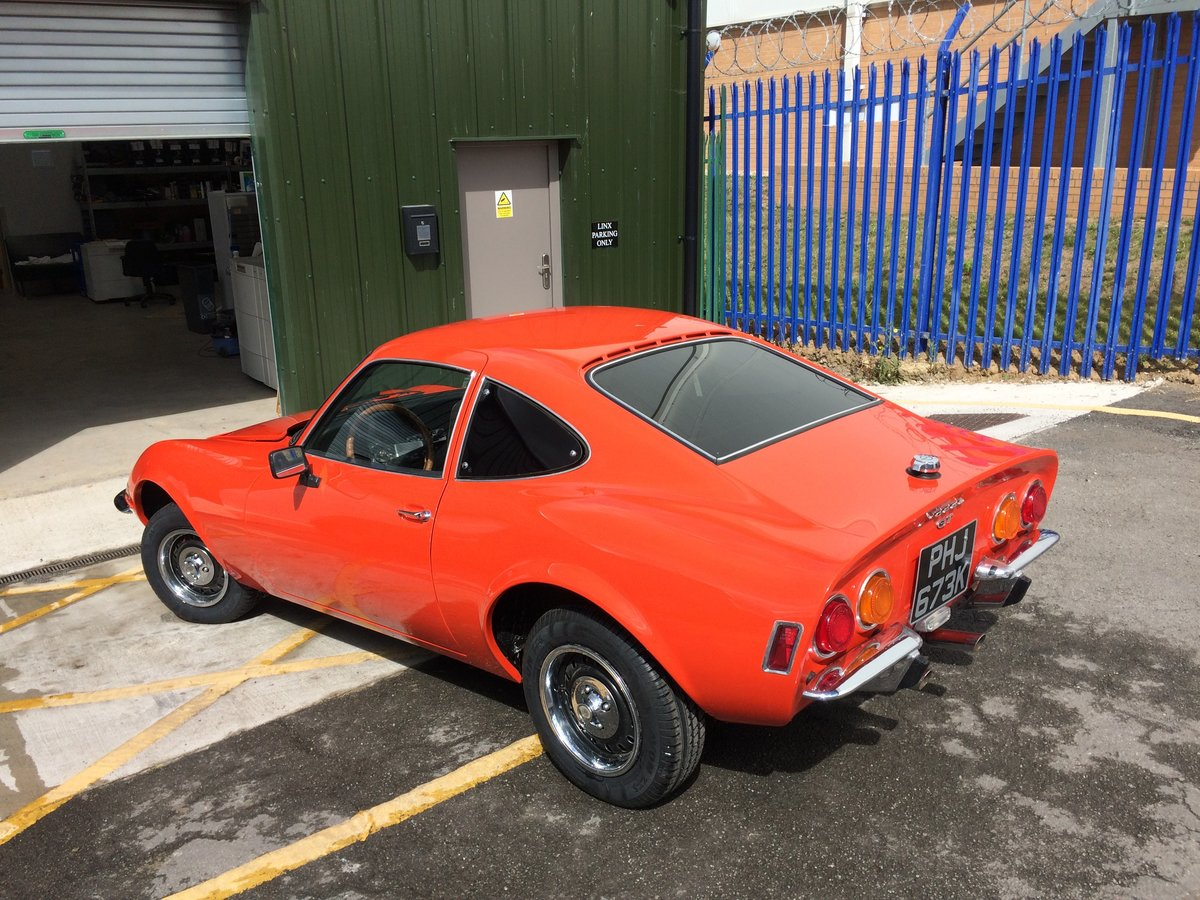 1972 Opel GT 1900 For Sale (picture 3 of 6)