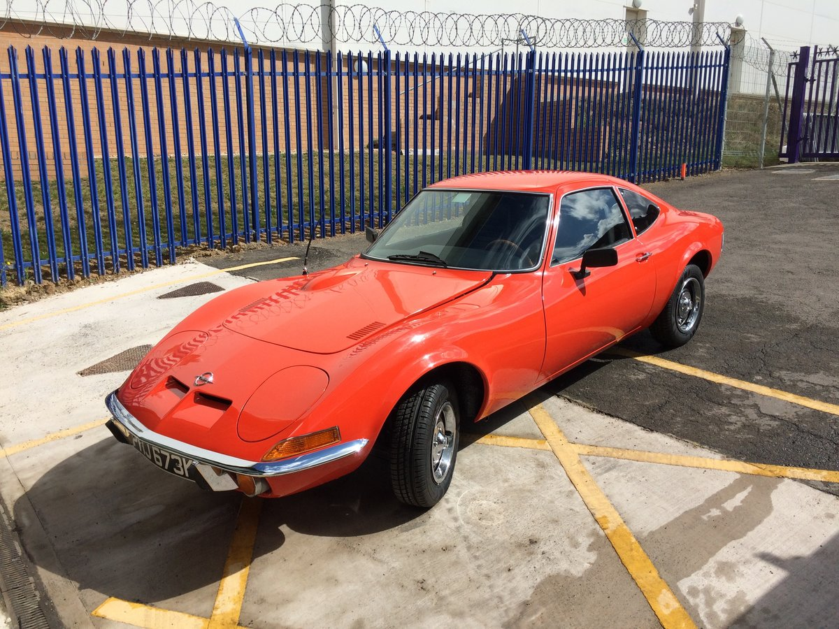 1972 Opel GT 1900 For Sale (picture 4 of 6)