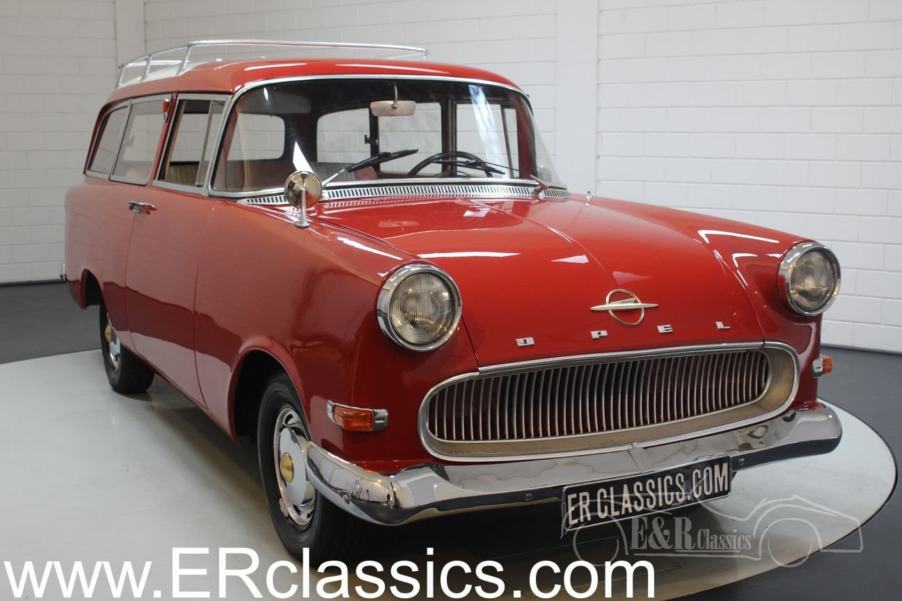 Opel Rekord Olympia 1500 Caravan 1959 For Sale (picture 1 of 6)
