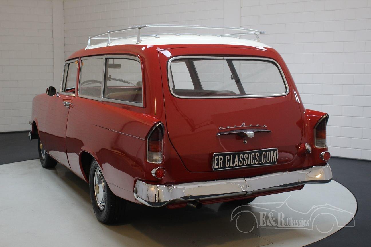 Opel Rekord Olympia 1500 Caravan 1959 For Sale (picture 5 of 6)