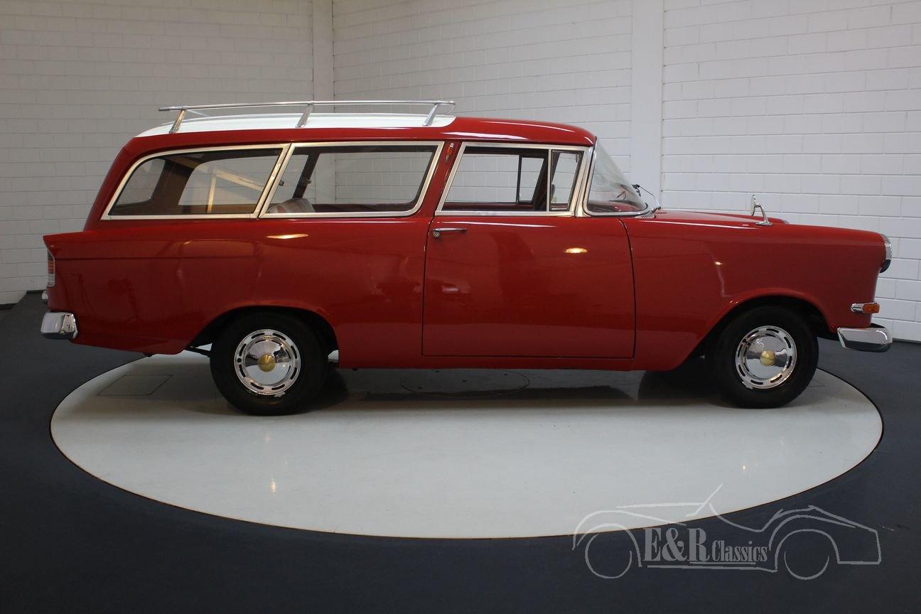 Opel Rekord Olympia 1500 Caravan 1959 For Sale (picture 6 of 6)