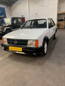 OPEL KADETT 1600 SR FOR AUCTION 30TH JANUARY 2020 DUBLIN