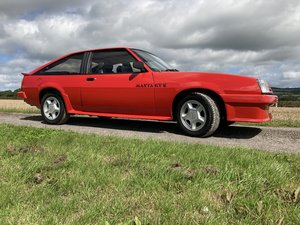 Opel Manta GTE - £15,000 spent on restoration