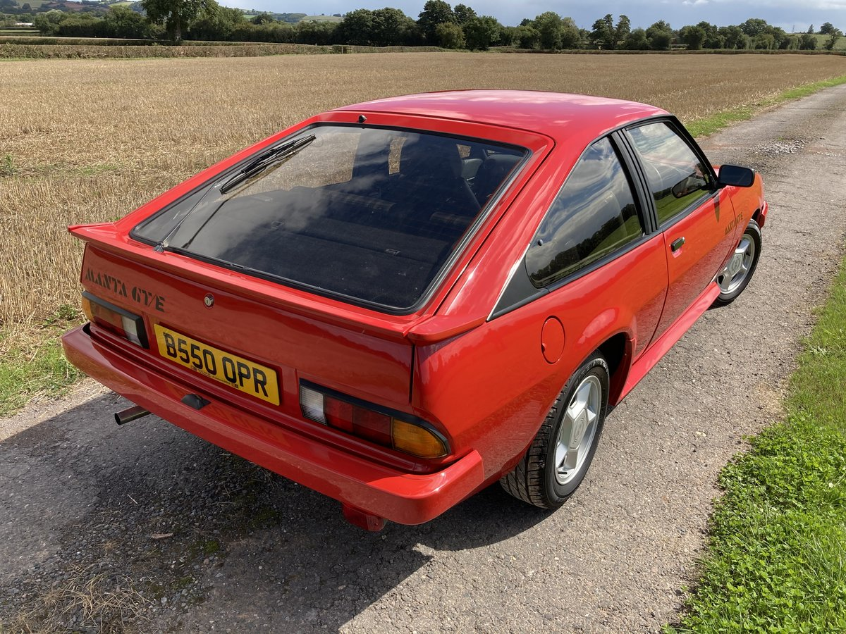 1984 Opel Manta GTE - £15,000 spent on restoration SOLD (picture 4 of 6)