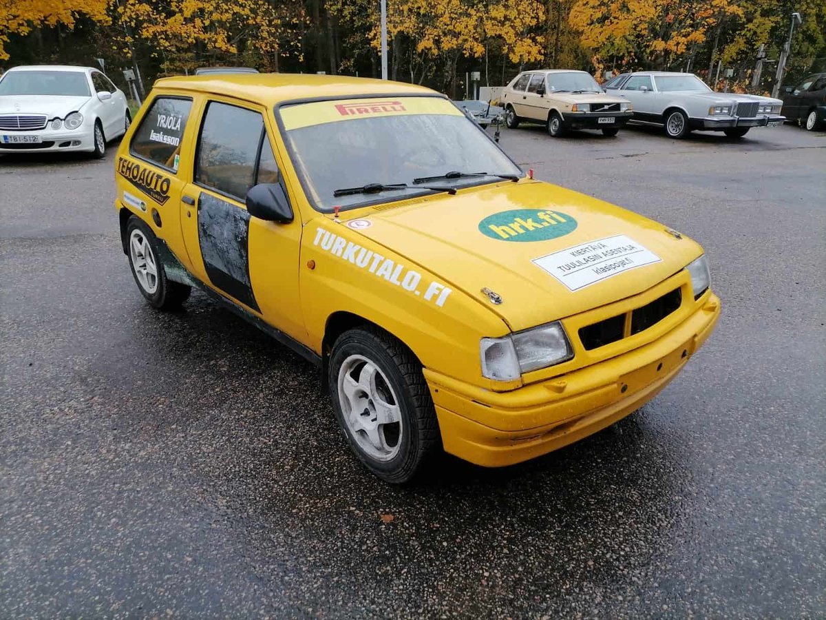 1990 Opel Corsa GSi Historic Rally Car For Sale (picture 1 of 6)