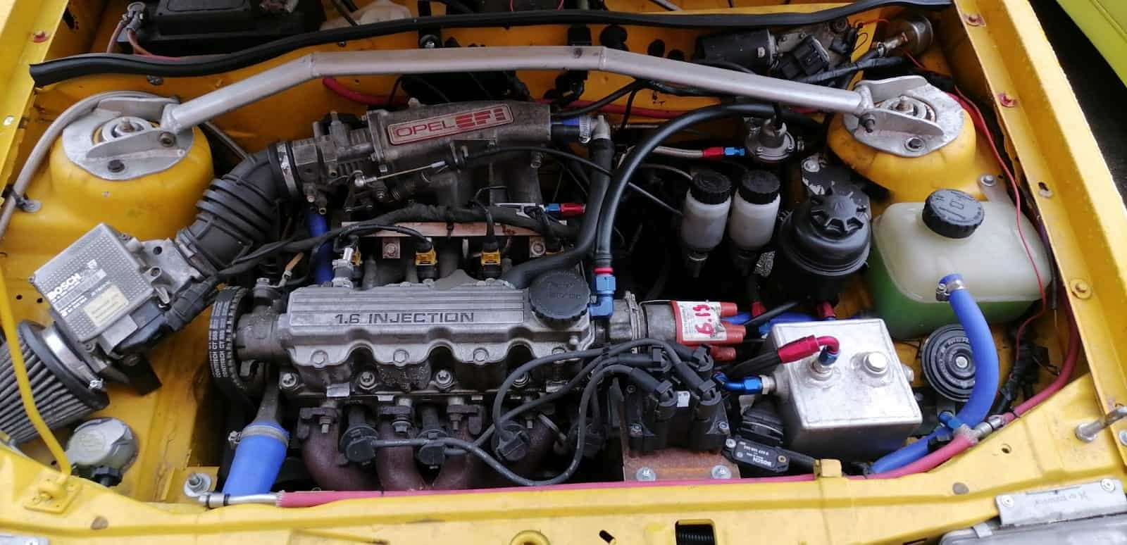 1990 Opel Corsa GSi Historic Rally Car For Sale (picture 6 of 6)