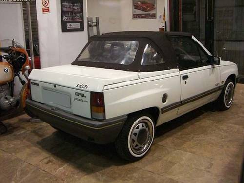 OPEL CORSA 1.2 CABRIOLET - 1985 For Sale (picture 2 of 6)