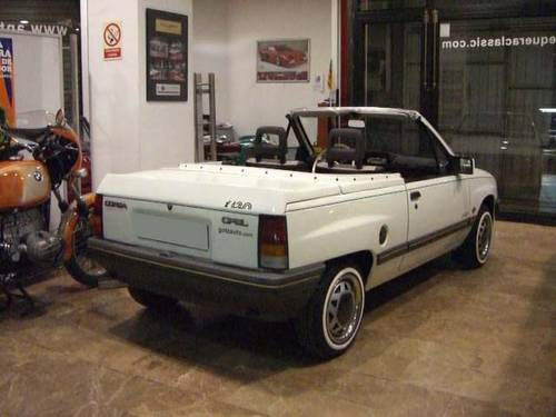 OPEL CORSA 1.2 CABRIOLET - 1985 For Sale (picture 3 of 6)