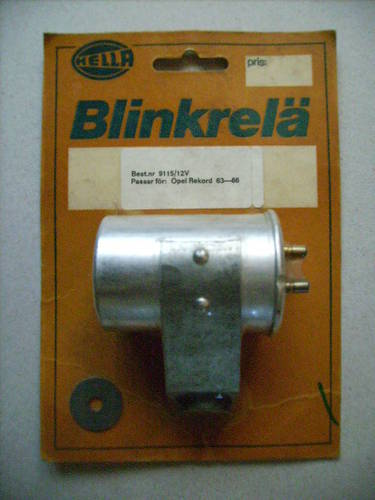 1963 Hella turnsignal flasher for Opel For Sale (picture 1 of 2)