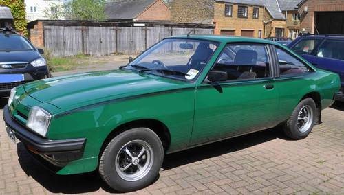 Pre Owned Cars Near Me >> 1980 Opel Manta 'B' GT/J 2ltr Coupe SOLD   Car And Classic