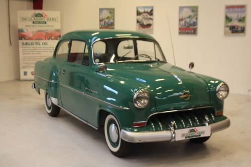 1953 Opel Olympia Rekord – first model year SOLD (picture 1 of 6)