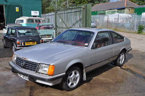 1979 RARE OPEL MONZA 3.0E PROJECT SILVER RED INTERIOR LOW MILES SOLD (picture 1 of 6)