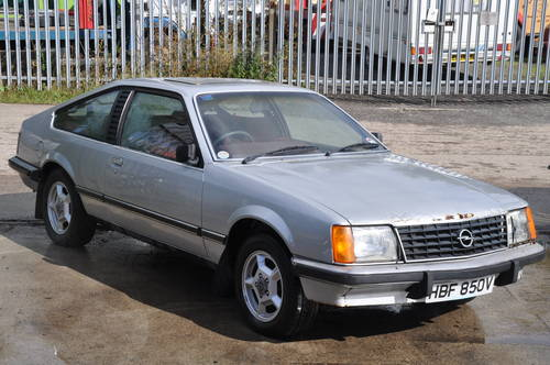 1979 RARE OPEL MONZA 3.0E PROJECT SILVER RED INTERIOR LOW MILES SOLD (picture 2 of 6)