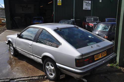 1979 RARE OPEL MONZA 3.0E PROJECT SILVER RED INTERIOR LOW MILES SOLD (picture 3 of 6)