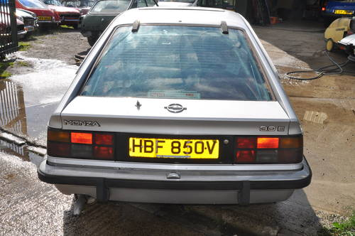 1979 RARE OPEL MONZA 3.0E PROJECT SILVER RED INTERIOR LOW MILES SOLD (picture 4 of 6)