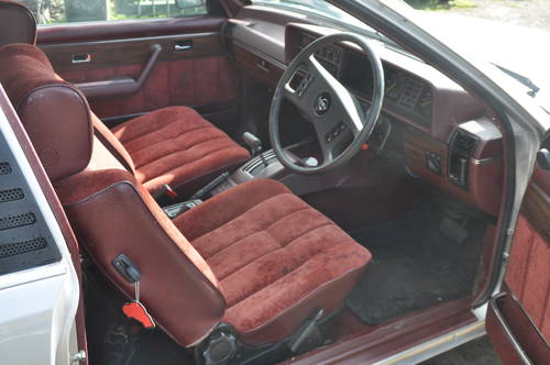 1979 RARE OPEL MONZA 3.0E PROJECT SILVER RED INTERIOR LOW MILES SOLD (picture 5 of 6)