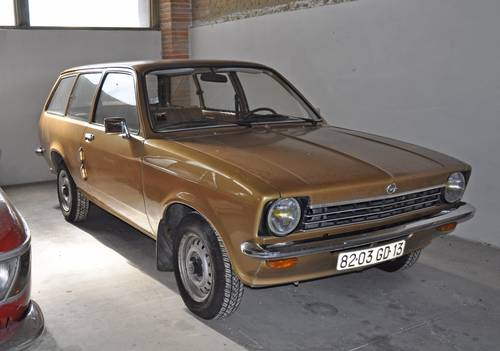 Opel Kadett C Caravan 1976 First hand car SOLD by Auction (picture 1 of 5)