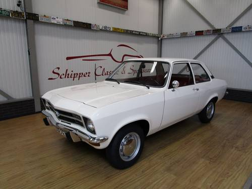 1973 Opel Ascona A 1.2S First owner and only 30.000km For Sale (picture 1 of 6)