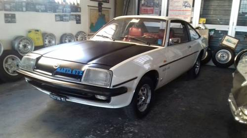1976 conserved opel manta For Sale (picture 1 of 6)