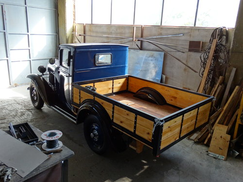 1938 Adam Opel AG P4 1.1lt Type 1126 Truck, fully restored For Sale (picture 2 of 6)