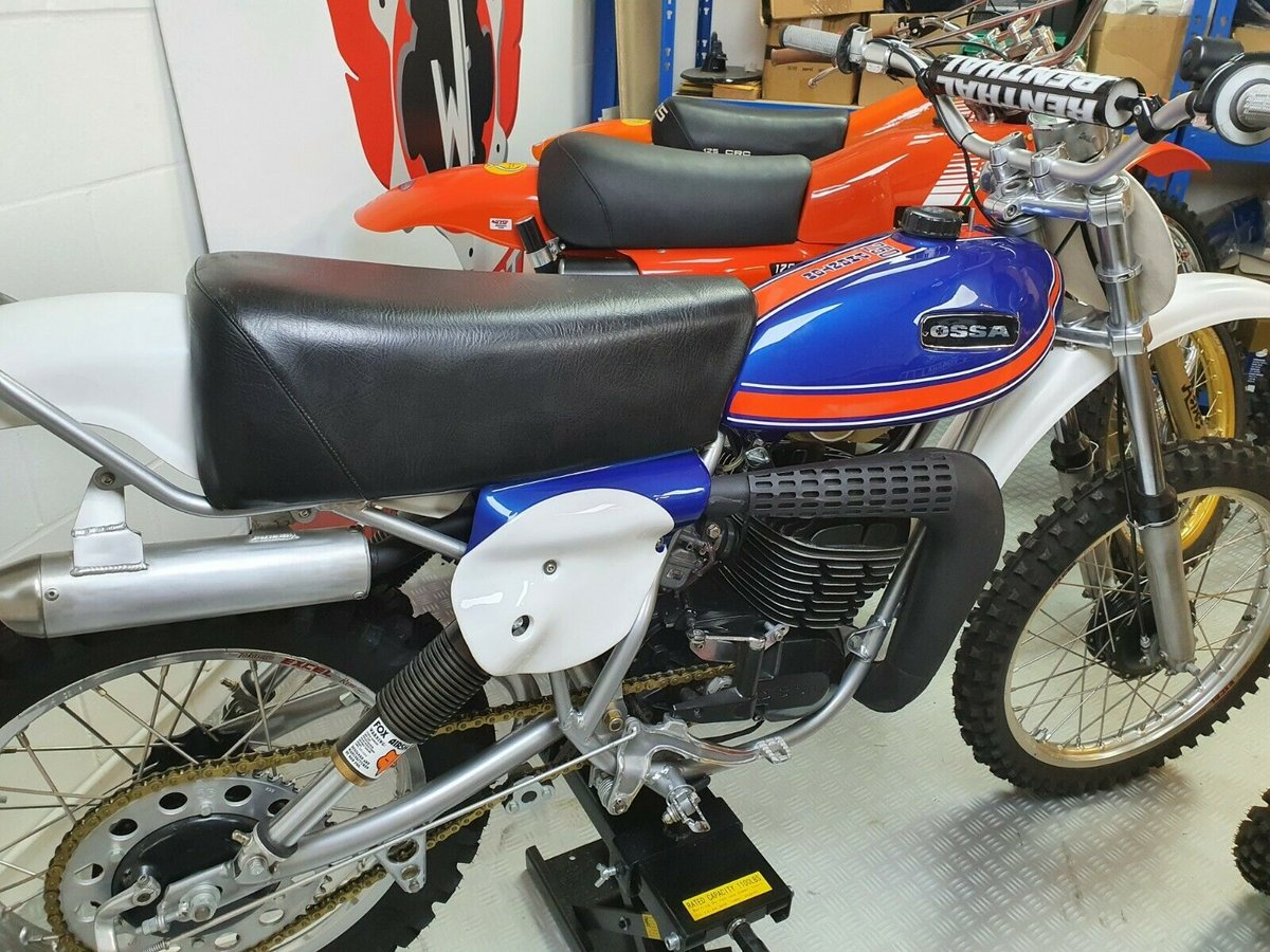 1976 Ossa phantom gp2, enduro classic twinshock For Sale (picture 1 of 12)