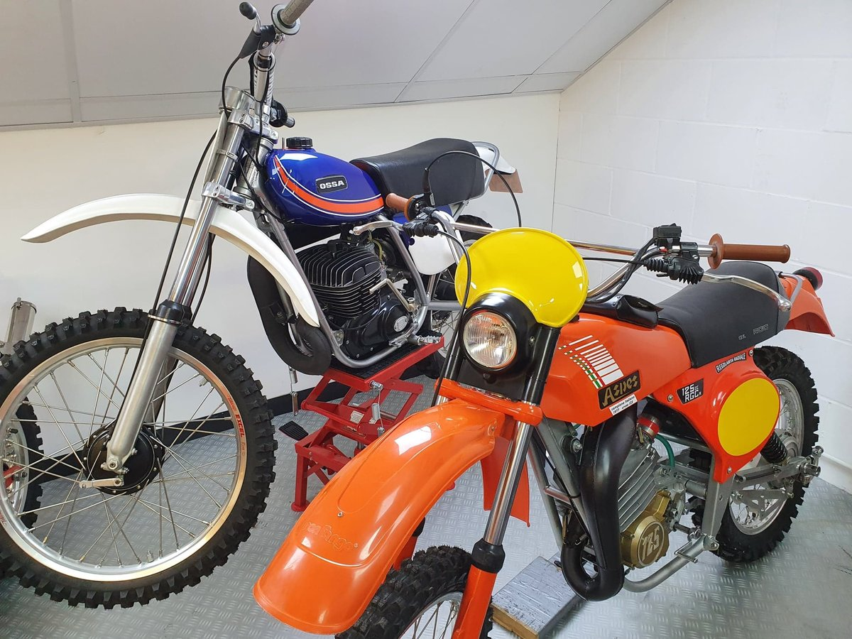 1976 Ossa phantom gp2, enduro classic twinshock For Sale (picture 5 of 12)