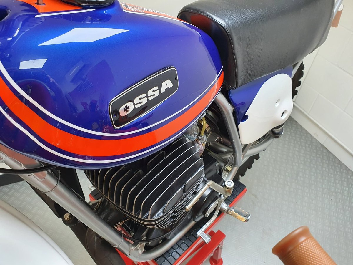 1976 Ossa phantom gp2, enduro classic twinshock For Sale (picture 6 of 12)