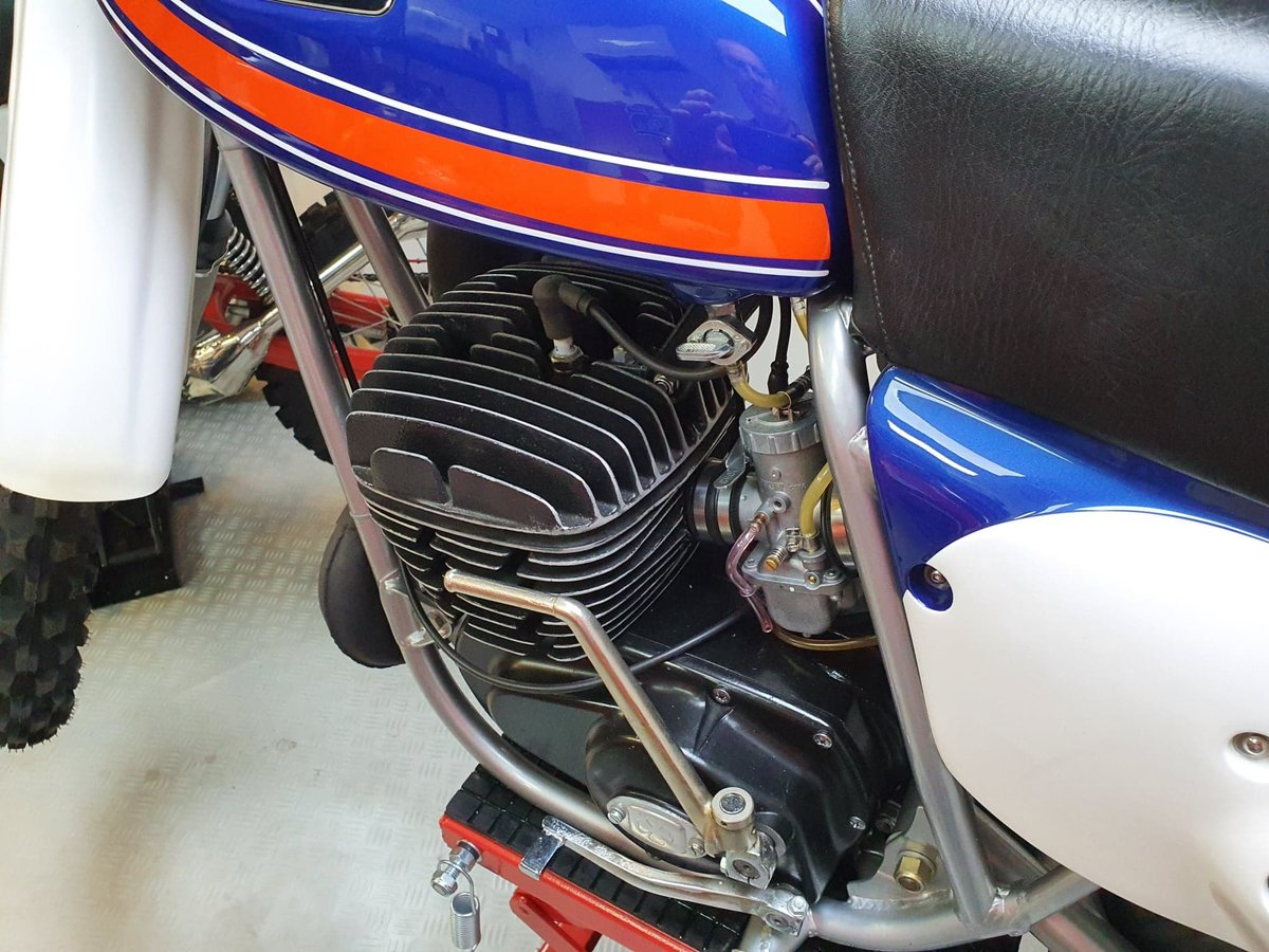 1976 Ossa phantom gp2, enduro classic twinshock For Sale (picture 10 of 12)