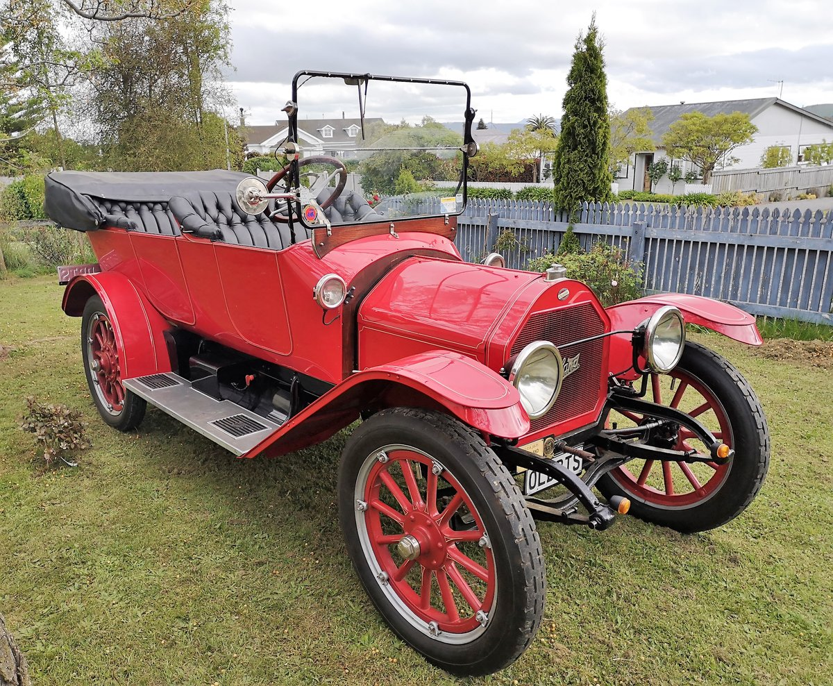 1914 Overland Tourer. Fully restored. For Sale (picture 1 of 6)