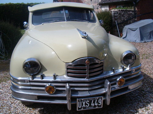 Packard 8 1948 manual 3 speed LHD PRICE RECUCED For Sale (picture 1 of 6)